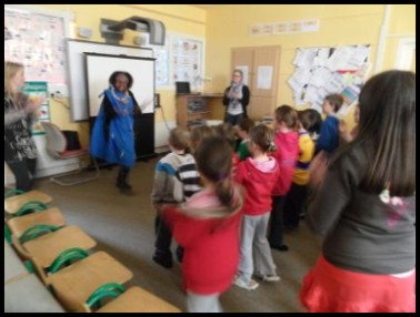 Learning a Tribal dance